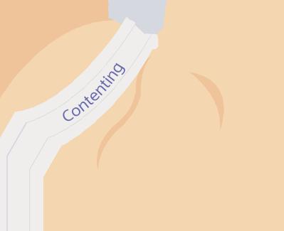 contenting born